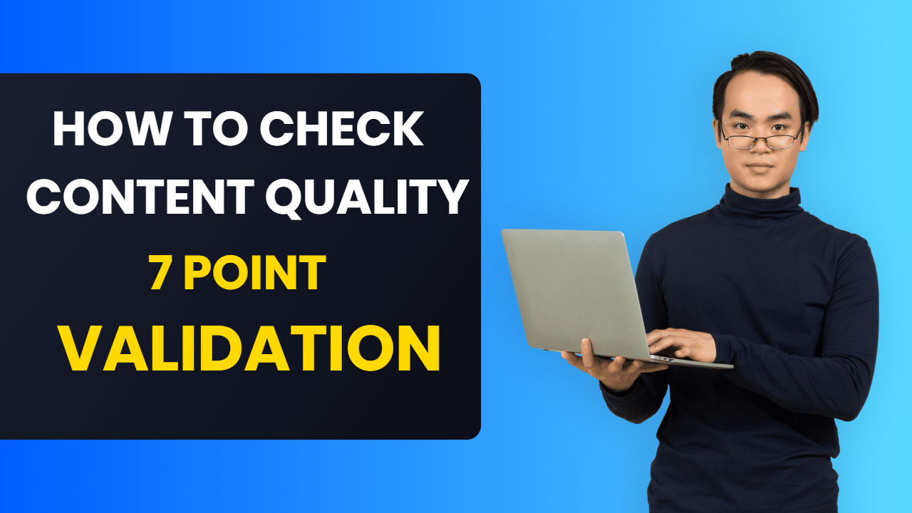 how to check content quality